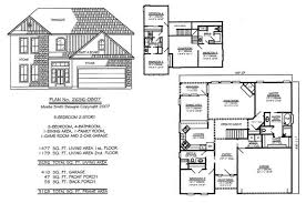 5 Bedroom Country House Plans 2 Story 4 Bedroom Farmhouse House Floor Plans Blueprints Building