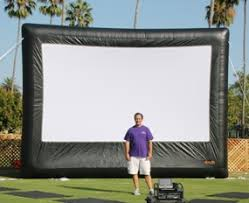 Backyard Movie Night Rental Movie Screen Equipment Rentals San Diego Projector Dvd