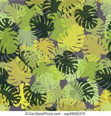 tropical wrapping paper tropical pattern with monstera leaves a simple background