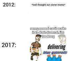 Memes New - old memes vs new memes meme by loafus memedroid