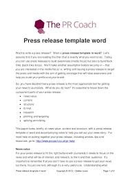 press release template sapient press release template press