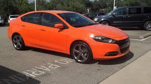 dodge dart orange header orange gt 2 4