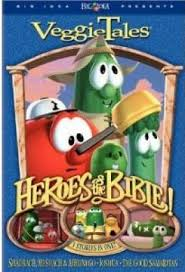 christian veggietales heroes of the bible vol 2 uts