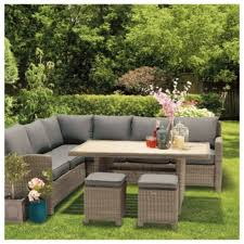 buy dobbies alegrano modular garden dining lounge set from our