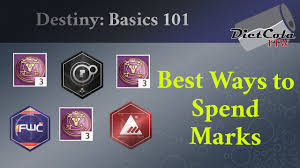 destiny basics 101 the best way to spend legendary marks in