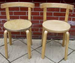 scandinavian chair a pair of scandinavian birch ply chairs antiques atlas