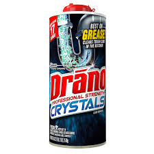 how to clear kitchen sink clog drano kitchen crystals clog remover 18 ounces walmart com