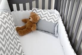 Zig Zag Crib Bedding Set Amazon Com 7 Piece Crib Nursery Bedding Set With Bumper By