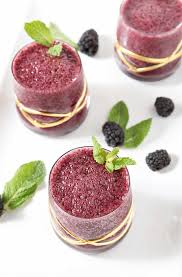blackberry gin slush for the summer the speckled palate