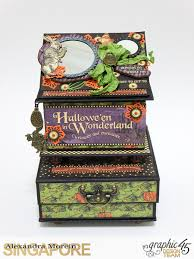 clayguana halloween in wonderland notebooks and boxes
