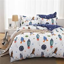 Space Bed Set Qoo10 Brandream Boys Galaxy Space Bedding Set Bedding Set