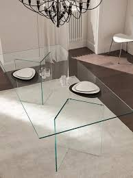 all glass dining room table 30 ways to incorporate a glass dining table into your interior all