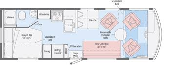 class b rv floor plans tribute floorplans winnebago rvs