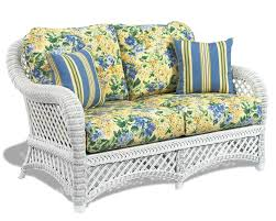 White Wicker Furniture Lanai Wicker Paradise - Outdoor white wicker furniture