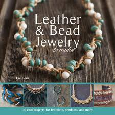leather bead necklace images Leather bead jewelry to make cat horn 9781438007861 amazon jpg