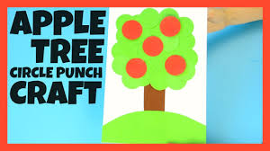 apple tree paper craft for kids back to craft for kids