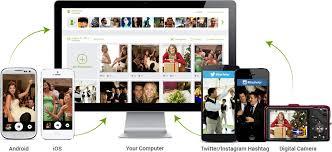 wedding photo album online eversnap wedding snap best wedding event photo app