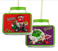 club pack of 24 chocolate shop m m mini tin lunch box