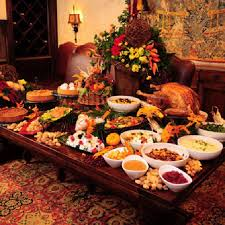 inspiring thanksgiving buffet table decorating ideas 11 in home