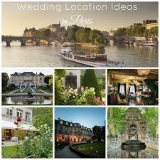 Wedding Locations Wedding Locations In Paris