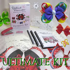 hair bow maker pink ladybug brilliant bowmaker templates