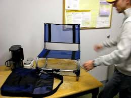 Travel Chair Big Bubba Larry Chair By Travelchair Youtube