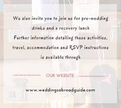 marriage invitation websites destination wedding invitation wording weddings abroad guide