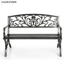 Bench Online Sale Bcp Outdoor Patio Garden Bench Park Yard Furniture Cast Iron