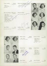 find my high school yearbook my tolbert in the 1953 high school yearbook via