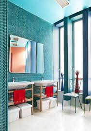paint color portfolio turquoise bathrooms apartment therapy