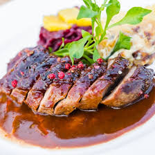 cuisiner magret de canard poele recette magret de canard sauce foie gras facile rapide