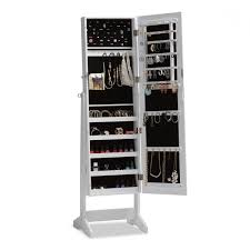 Mirrored Jewelry Armoire Ikea Mounted Ikea Furniture Wooden Wall Mount Standing Jewelry Armoire