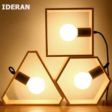 ideran table en bois les et lanternes le de bureau rétro tissu