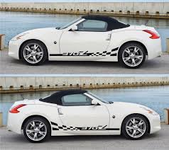 nissan fairlady 370z nismo nissan fairlady z nismo racing stripes sticker kit v2 infinity270