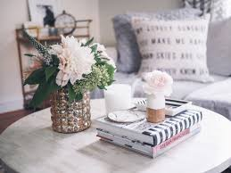 How To Style A Coffee Table How To Style A Coffee Table Cheers From The Roses