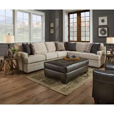 Simmons Upholstery Simmons Upholstery Macy Sand 2 Piece Sectional Sofa Goedekers Com