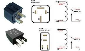 4 pin relay wiring diagram gooddy org