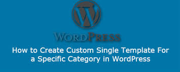 how to create custom single template in wordpress freewebmentor