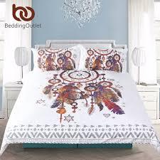 Duvet Size Aliexpress Com Buy Beddingoutlet Hipster Watercolor Bedding Set