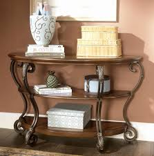 cross island sofa table ashley furniture console table best of signature design by ashley