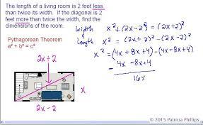geometry pythagorean theorem word problems youtube