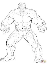 avengers the hulk coloring page free printable coloring pages