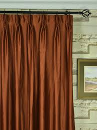 100 Length Curtains Wide Swan Brown Solid Pinch Pleat Curtains 100 Inch