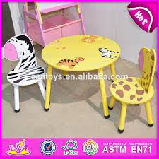 kids animal table and chairs 2015 round table and chair for kids animal design children wooden