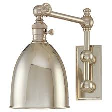 Swing Arm Wall Sconce Hardwired Industrial Swing Arm Wall Ls Lighting Fixtures Lights And Swing