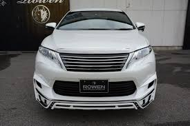 harrier lexus 2007 toyota harrier body kit singapore toyota harrier modellista style