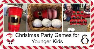christmas party games for kids family finds fun