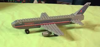 daron best lock american airlines passenger jet lego compatible