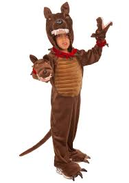 Dog Halloween Costumes Kids 3 Headed Guard Dog Costume Kids