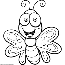 coloring pictures of small butterflies cute small butterfly coloring pages getcoloringpages org